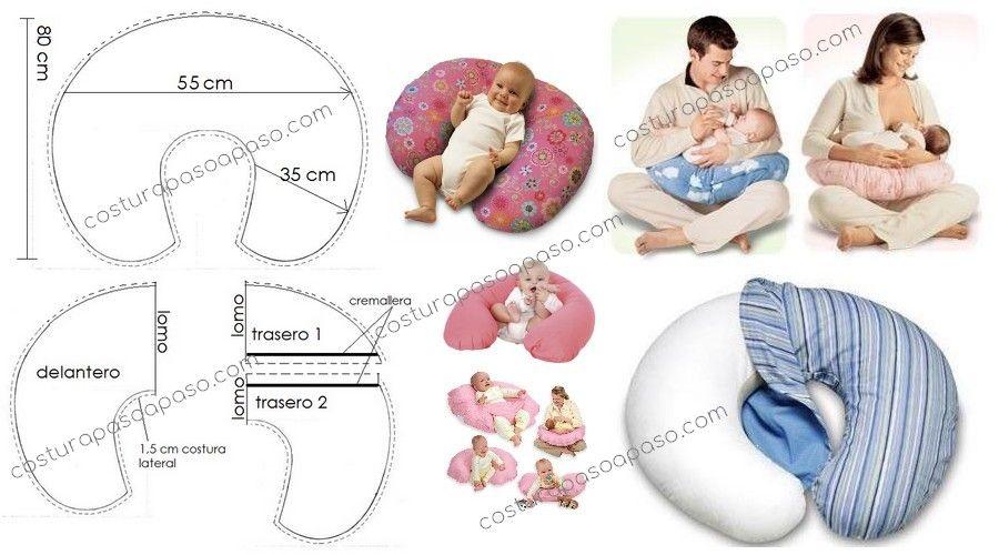 Como Hacer Cojines Para Bebés Con Moldes Cojines Bebe Amamantando Bebe Almohaditas Para Bebe