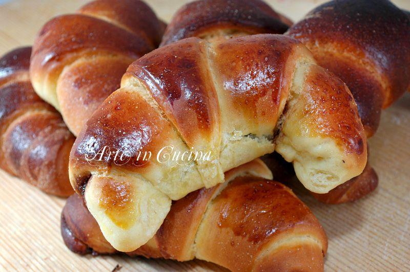Cornetti soffici e facili   Brioche, Biscotti and Croissant