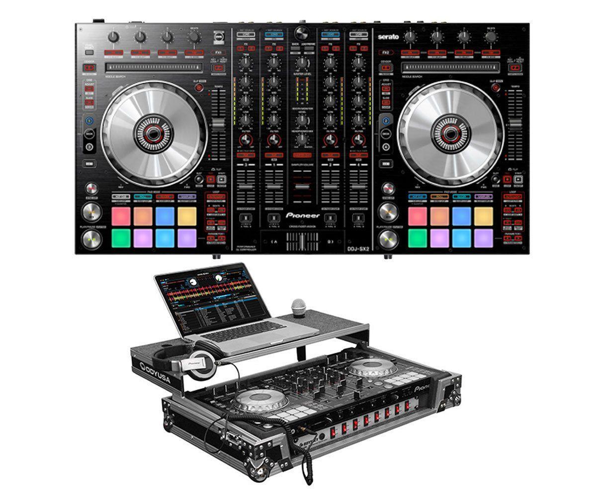Pioneer DDJ-SX2 DDJSX2 4-Channel Serato DJ Controller Glide