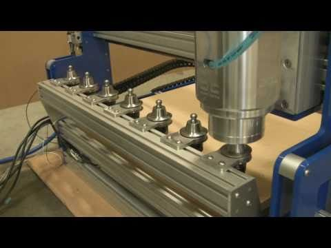 Haas Cnc Milling Universal Tool Change Button.