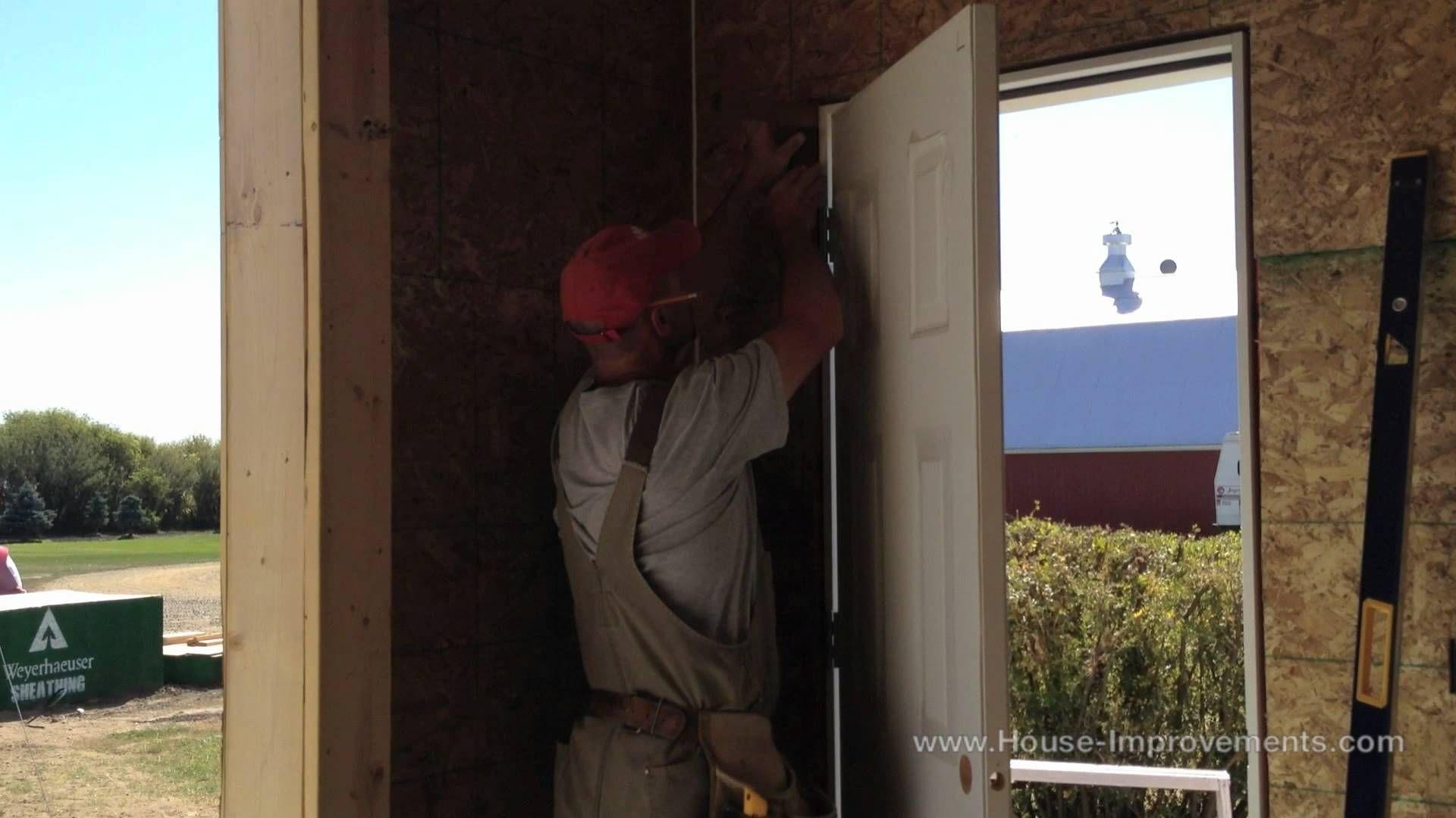 How To Install Exterior Door Part 60