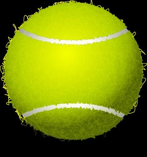 Tennis Ball Vector Clip Art Public Domain Vectors Tennis Ball Tennis Tennis Posters