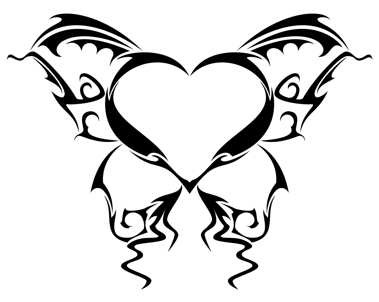 Heart Tattoos Designs Ideas And Meaning Tattoos For You Heart Tattoo Butterfly Tattoo Rose And Butterfly Tattoo