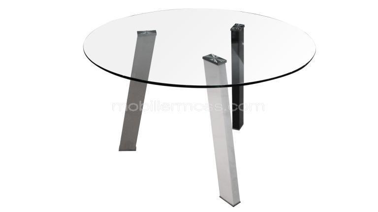 tables arminas pied gris detourage pied metal gris noir blanc ...
