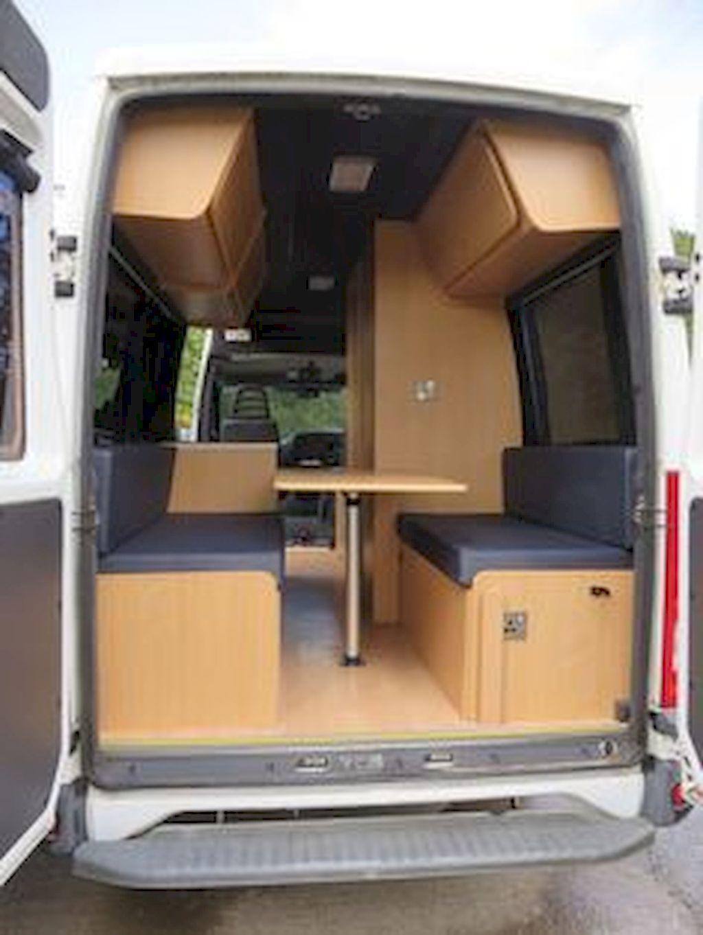 Cool 95 DIY Camper Van Conversion For Road Trip Vacation Roomodeling Diy