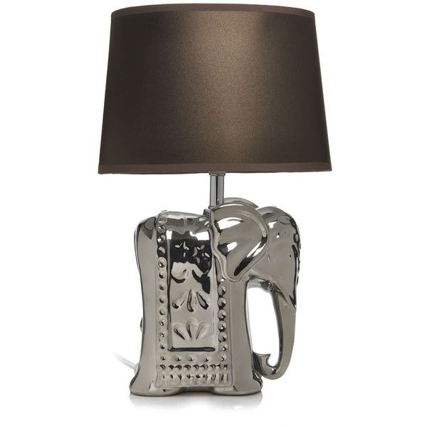 Wilko Table Lamp In Off White Linen And
