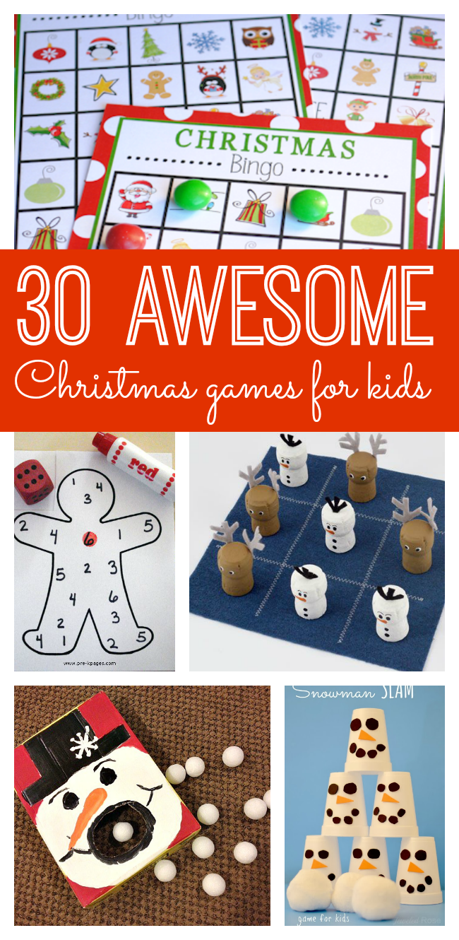30 Awesome Christmas Games for Kids | Christmas Help | Pinterest ...