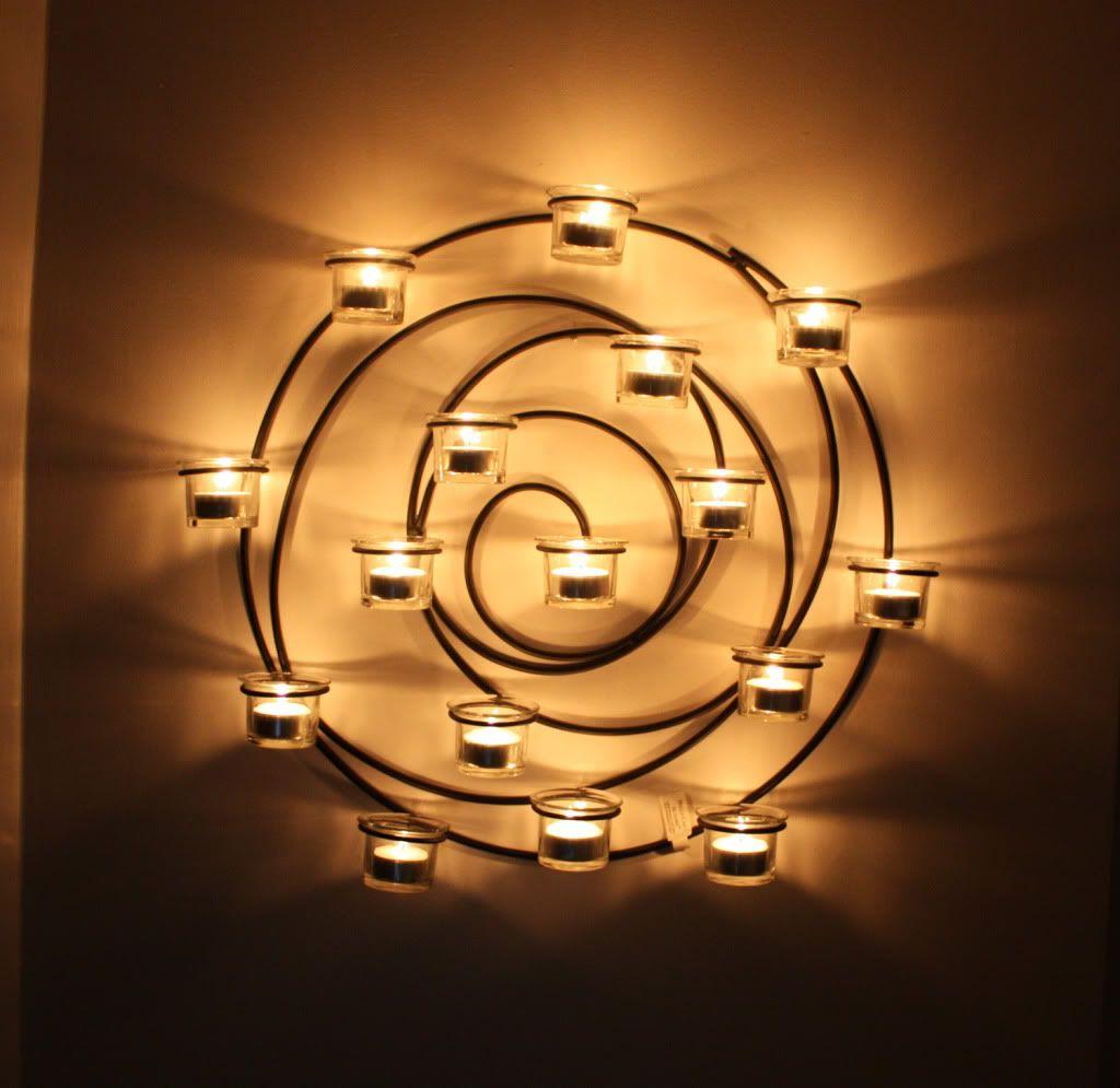 Spiral Votive Holder Pottery Barn $99   Wall sconces, Wall ... on Decorative Wall Sconces Candle Holders Centerpieces Ebay id=89363