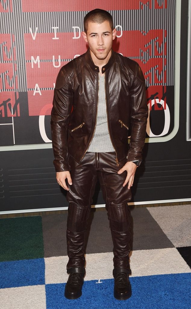 90ae60e5045 Nick Jonas from 2015 MTV Video Music Awards Red Carpet Arrivals The