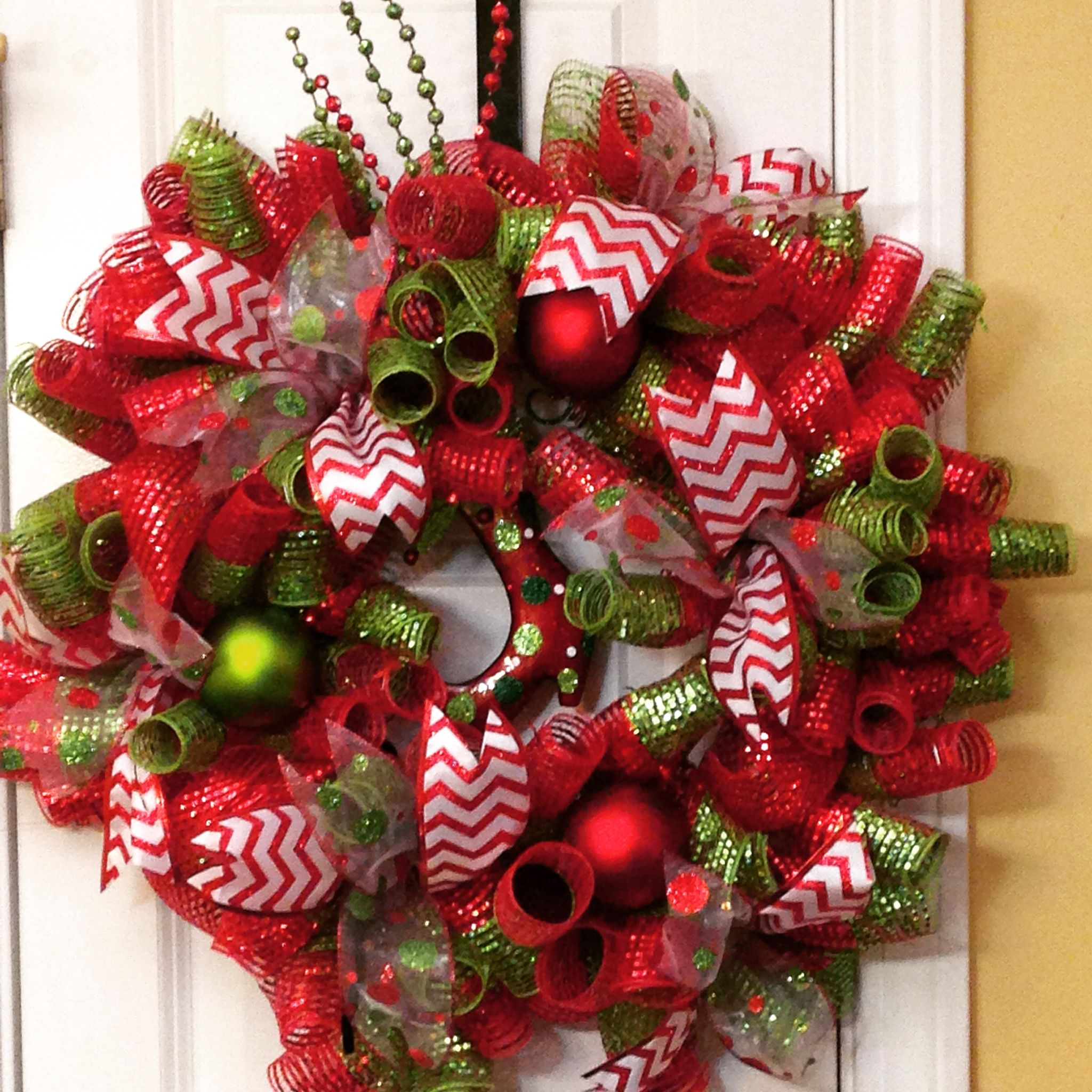 Geo mesh wreath form - Christmas Geo Mesh Wreath By Kathy Merry Christmas
