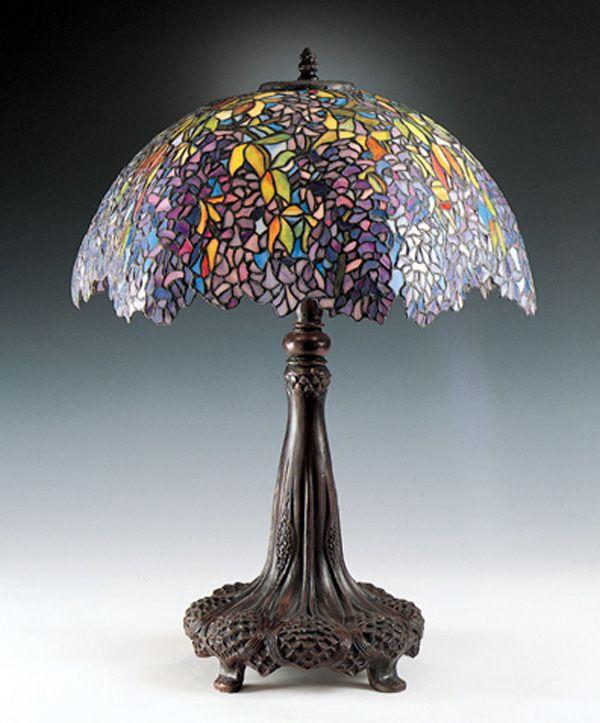 Beau Laburnum Tiffany Table Lamp