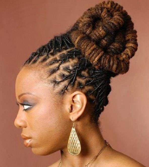 Loc Updo Hairstylesg 591661 Loc Styles Pinterest Locs