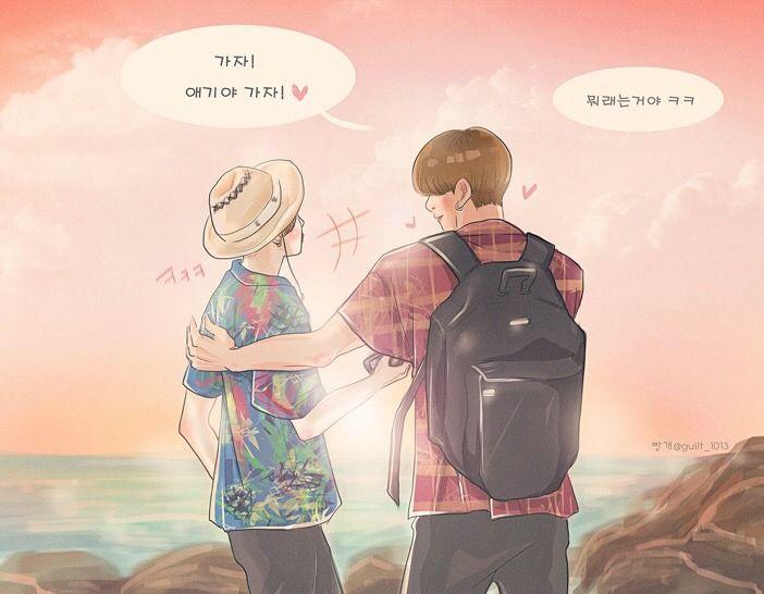Resultado de imagen para Kookmin fanart tumblr | My Dead >< Random