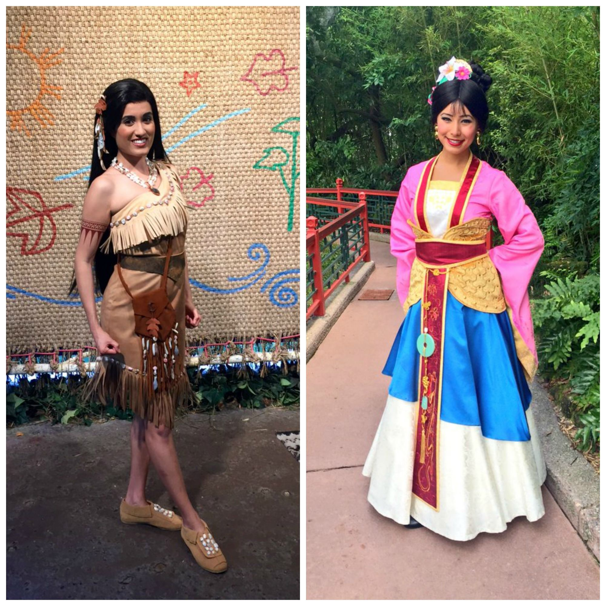 Forced to wear dresses at disneyland stories - New Look For Pocahontus And Mulan At Walt Disney World
