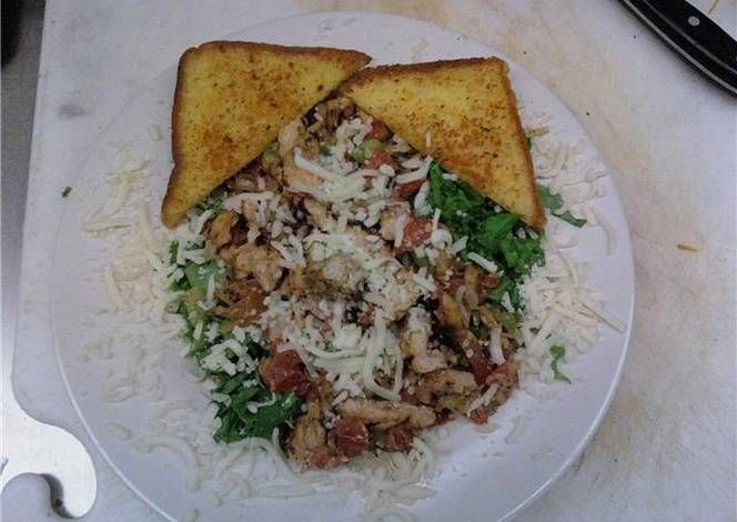 Grilled Italian Chicken Salad Recipe -  I think Grilled Italian Chicken Salad is a good dish to try in your home.