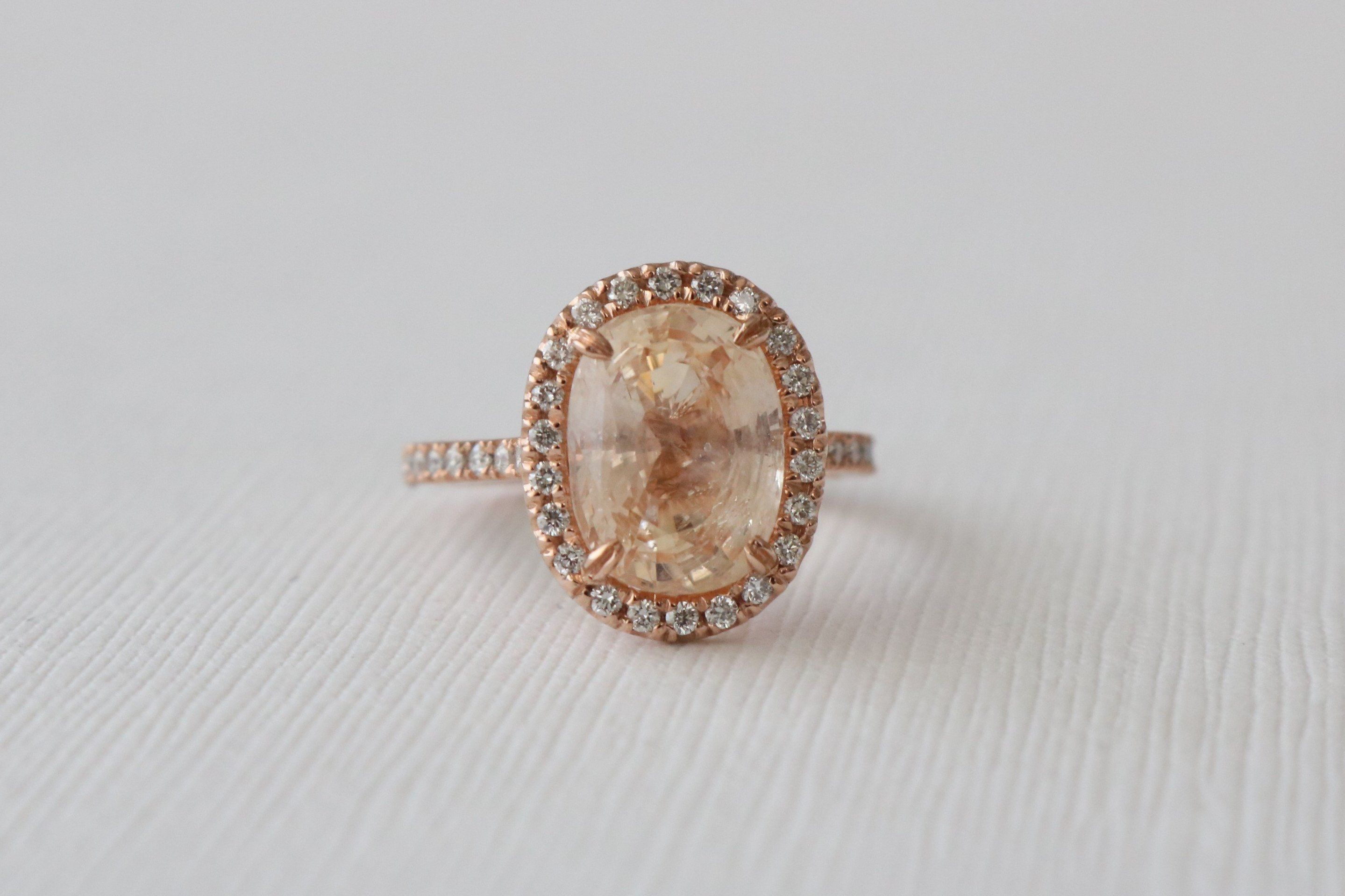 kind elegant sapphire of a ring oblacoder peach one nestled diamond