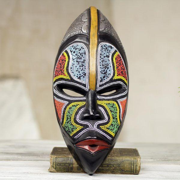 Handcrafted-African-Wood-Bantu-Zulu-Mask-Ghana-5ed8f704