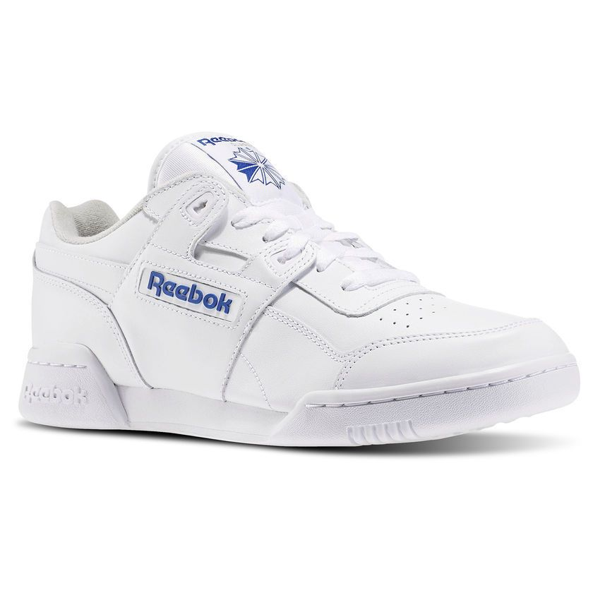 08e1ff4fcf38af 2759  men s reebok workout plus white royal  new in 2019