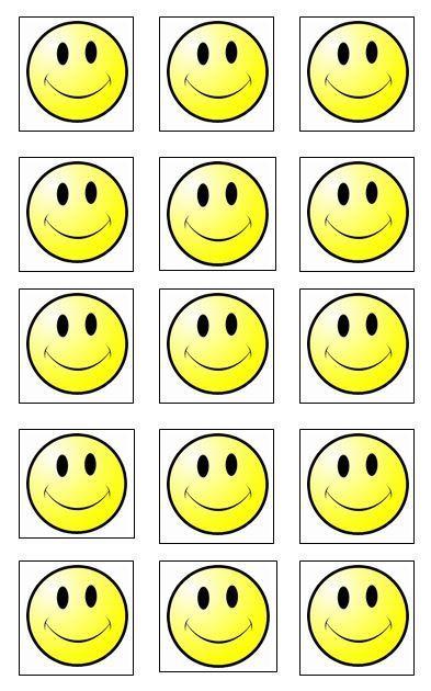 Reward Chart Smiley Faces Reward Chart Kids Rewards Behavior Chart Preschool