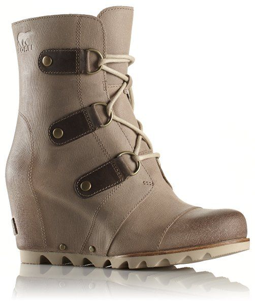 Sorel Women's Joan of Arctic Wedge Boot (6 B(M) , Oxford Tan)