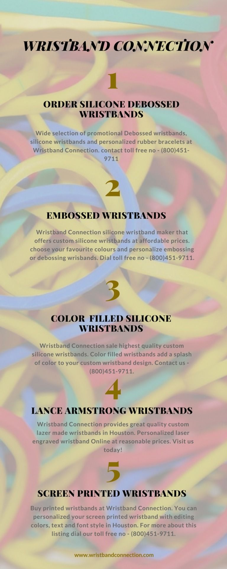 Order Custom Silicone Wristbands Online Wristbandconnection