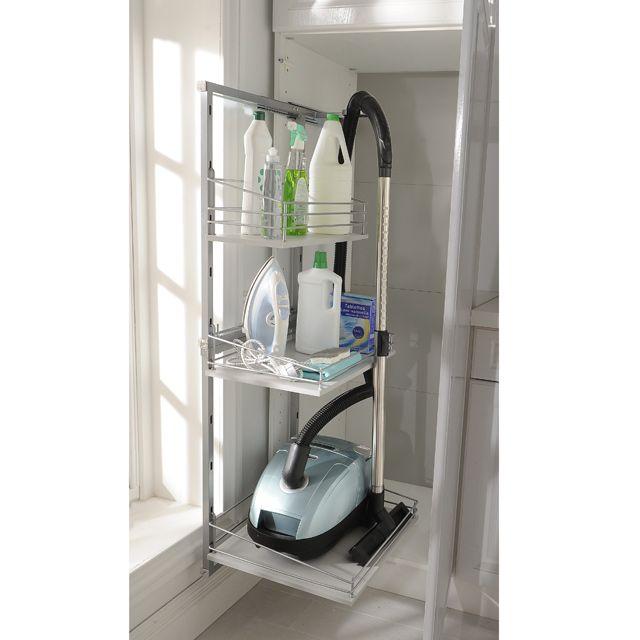 rangement pour aspirateur et produits d 39 entretien castorama id es maison pinterest. Black Bedroom Furniture Sets. Home Design Ideas