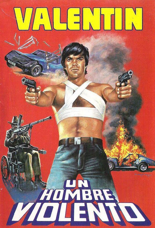 A Violent Man VHS (Valentín Trujillo, 1986)