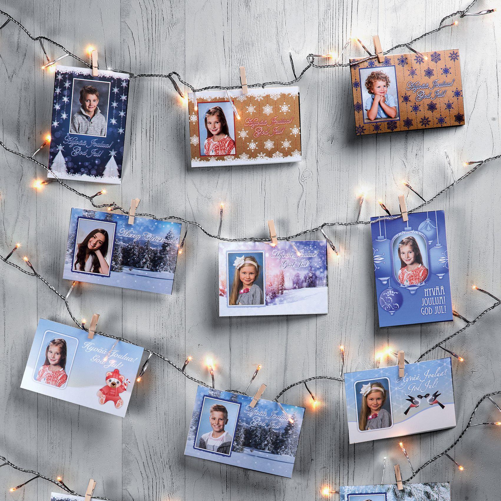 Ihanaa, nyt saa taas valmistella joulua!   kuvaverkko.fi   #joulukortti #terveiset #jouluvalot #joulu #sisustusidea #somistus #tunnelma #koulukuva #valokuva #kuvatuote #clickandmix #kuvaverkko