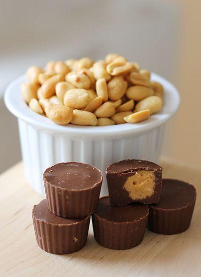 Homemade Peanut Butter Cups by windgestalt, via Flickr