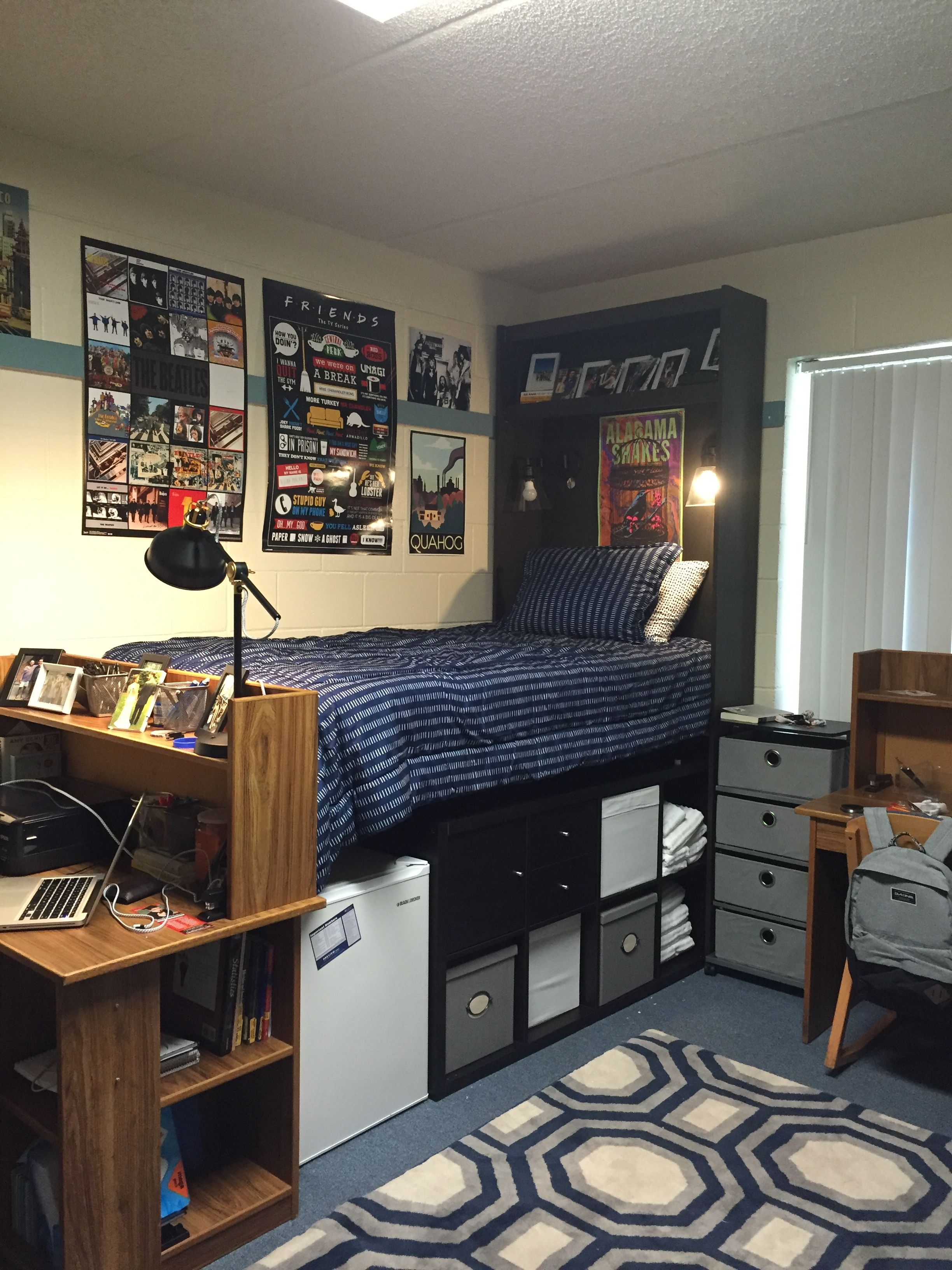 Connor S Dorm University Of Florida Dorm Room Diy College