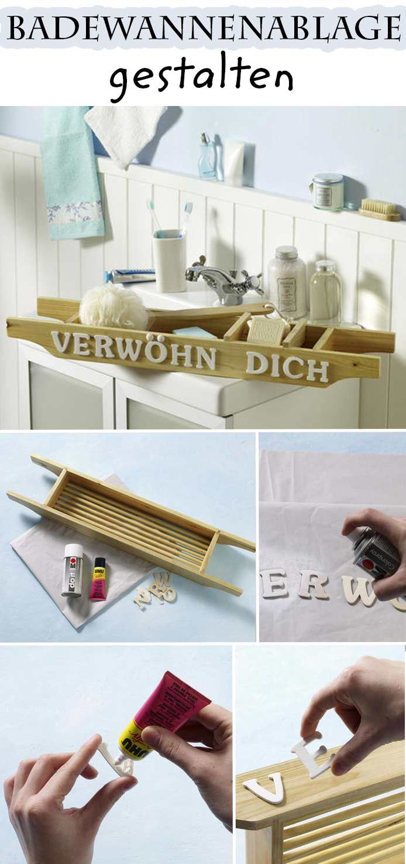 Badewannen-Tablett | Möbel & Holz | Pinterest | Dekorieren ...