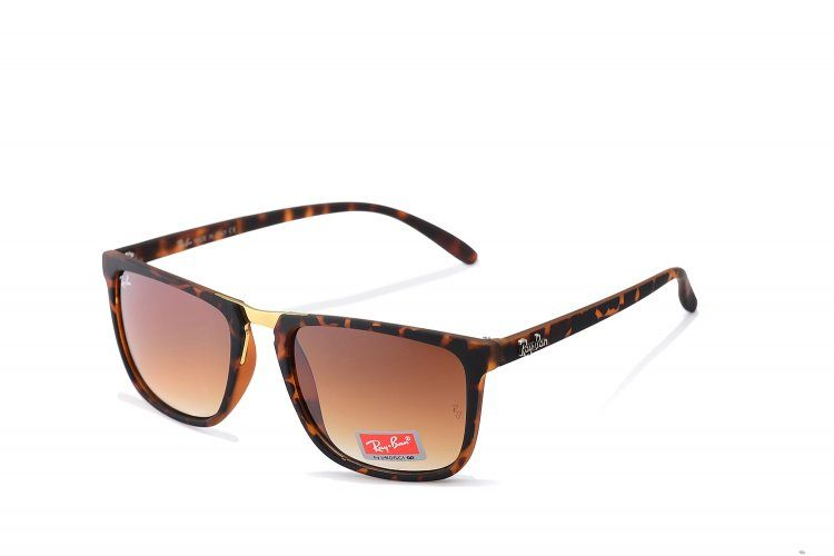 58d4943c46 affordable Ray Ban Highstreet Logo RB4147 Brown Sunglasses BNI sale online