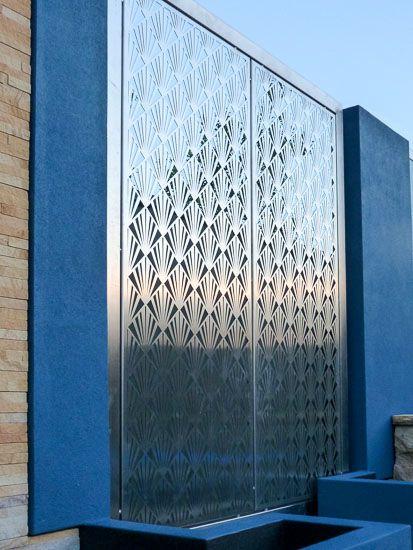 Cutout Mo1002 316 Stainless Steel Privacy Screens Bundoora Victoria