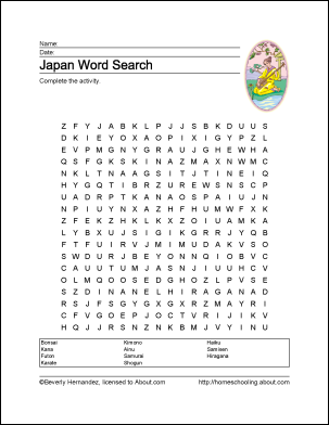 Learn about Japan with a Free Printables Set! | MFW ECC ...