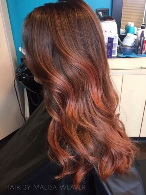 Love This Red By Malisa Weaver Salon Lofts Polaris In Ohio Color