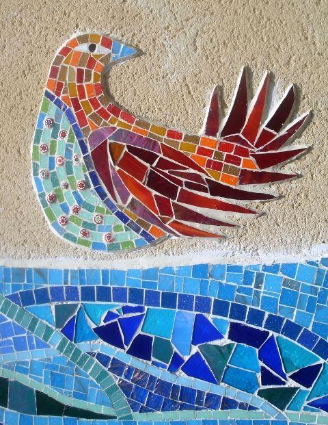 Springfield project mosaic by Amanda Anderson and Johanna Potter