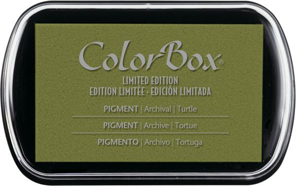 ColorBox - Limited Edition - Pigment Inkpad - Turtle at Scrapbook.com