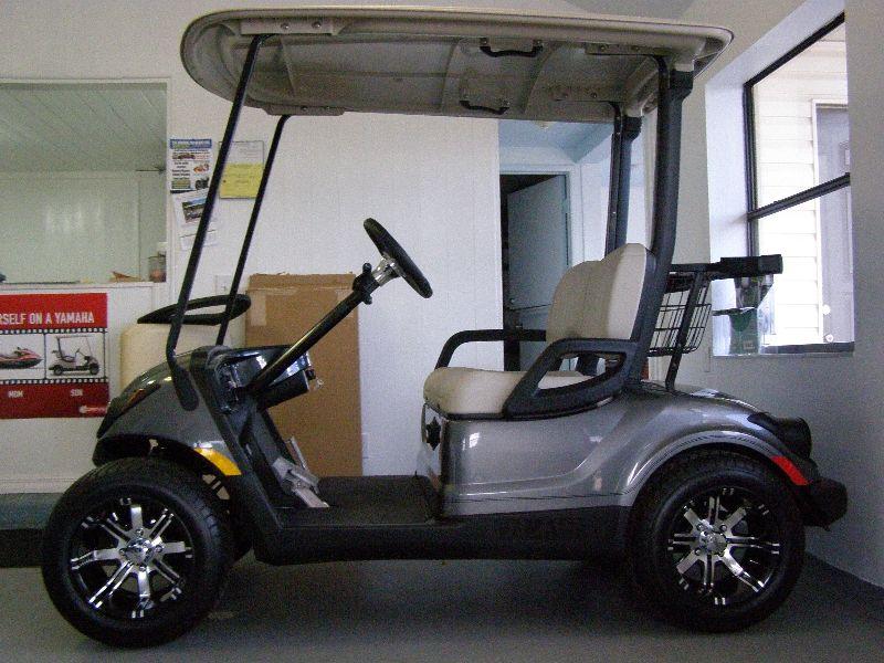 Yamaha new golf carts side profile 2013 yamaha drive for Yamaha golf cart repair near me