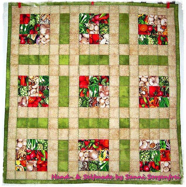 Tischdecke / Gemüse-Sudoku