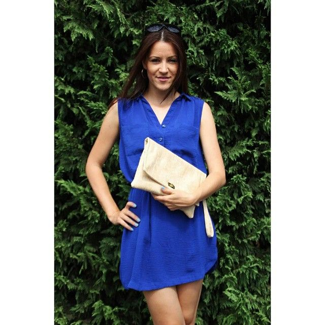 #miss_s_design #handmade #beige #croco #bag #clutch #fashion #trend #outfit #style #stylish #streetstyle #blue #dress