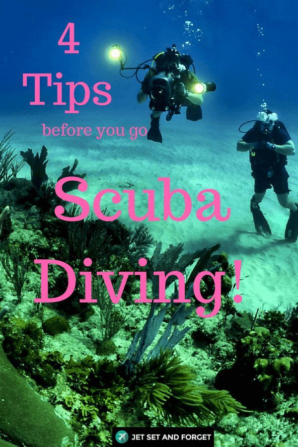 4 Helpful Tips Before Your Underwater Diving Experience
