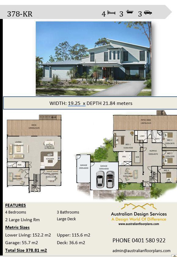 kr skillion roof storey bed bath concept house plans for sale by australianhouseplans on etsy two in also rh pinterest