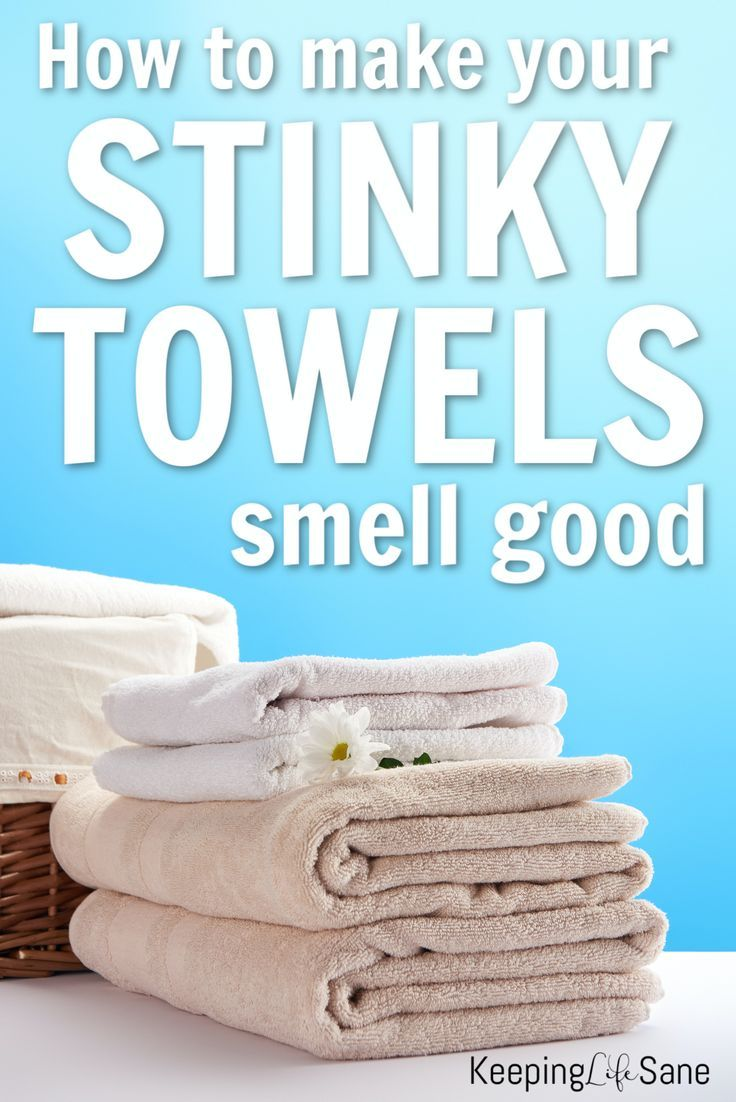 How to get the smell out of moldy towels in 2020 Towel