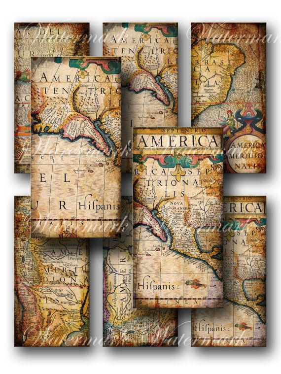 Old world map tags vintage america digital collage sheet old world map tags vintage america digital collage sheet download and print jpeg gumiabroncs Choice Image