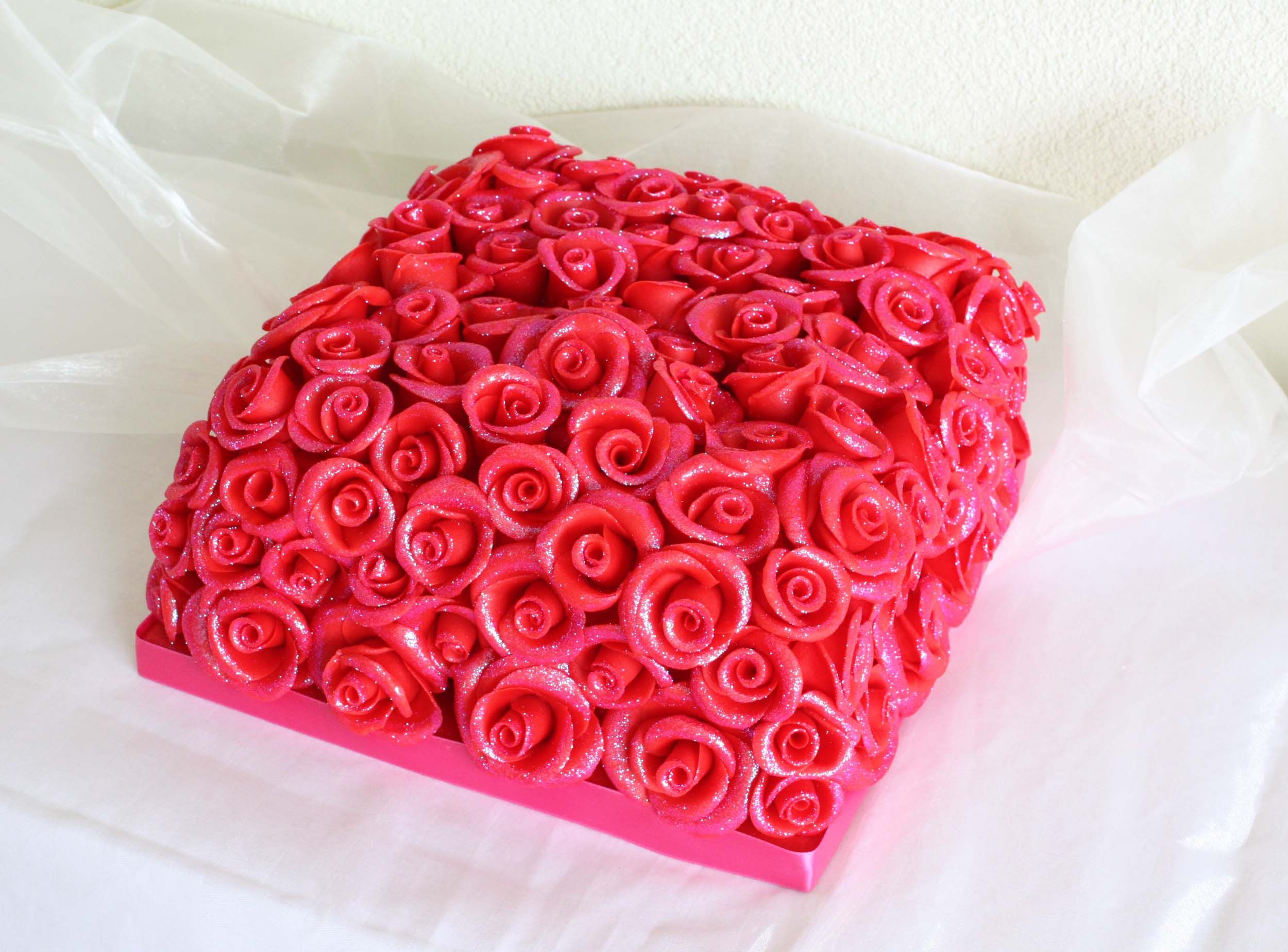 Happy Birthday Cake With Roses Httpwww
