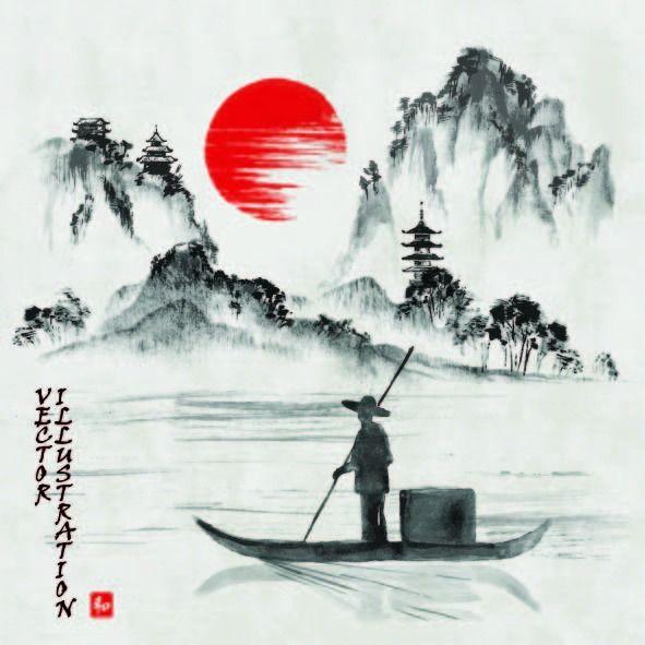 傳統山水畫