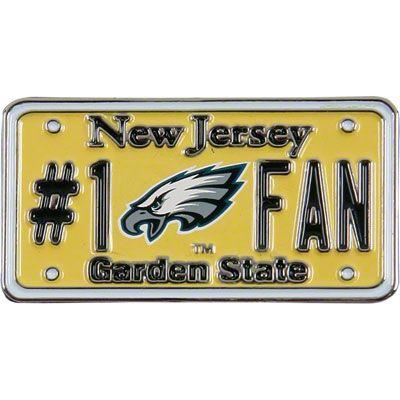 Philadelphia Eagles Nj License Plate Pin Philadelphia Eagles