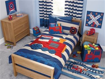 Buy Toddler Train Bed Set From The Next Uk Online Shop Kids