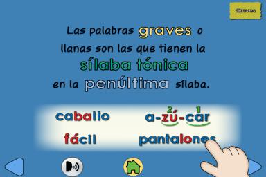 Ortografia Paso A Paso Ortografia Palabras Graves O Llanas App Para Escribir