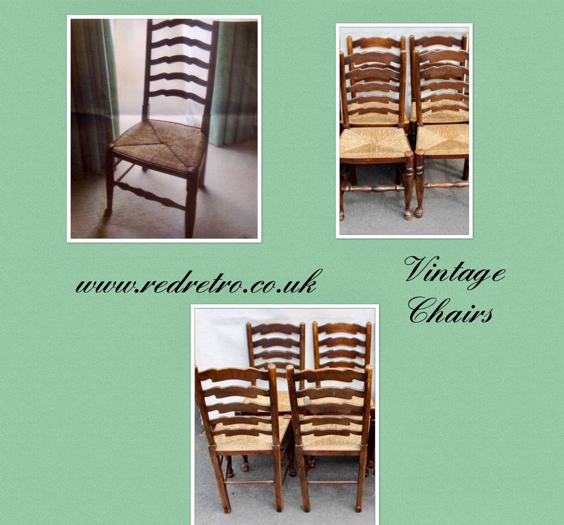 Just In At Red Retro A Lovely Set Of Four Vintage 1920s